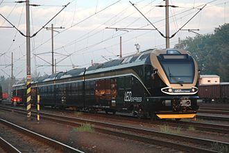 LEO Express - Stadler Flirt in Leo Express livery