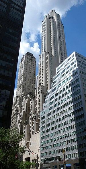 Frank Williams (architect) - Image: 4 seasons hotel NY 56 Pk jeh