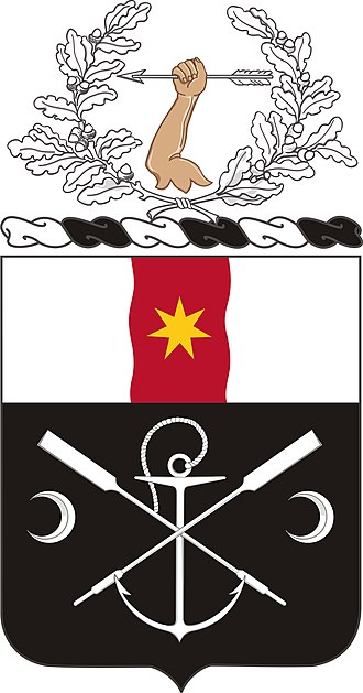 Coats of arms of U.S. Engineer Battalions - Image: 6 Eng Bn Co A