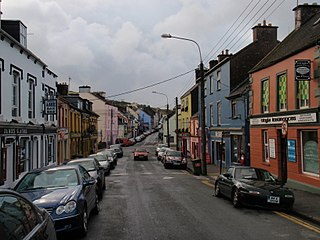 Dingle Town in Munster, Ireland