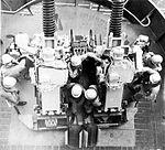 76 mm gun mount aboard USS Salem (CA-139) in 1953.jpg