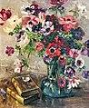81 - Le bouquet d'Anémones - Luce Boyals - Musée du Pays rabastinois - Inv.D.2004.5.6.jpg