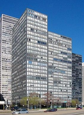 Los apartamentos Lake Shore Drive, del arquitecto Mies van der Rohe