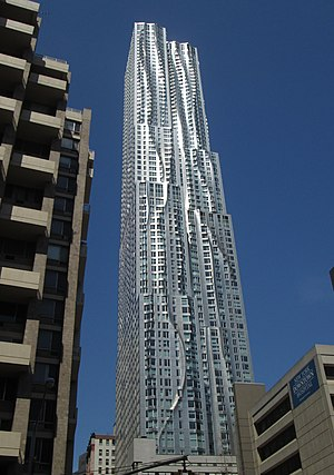 8 Spruce Street - As seen from Gold Street