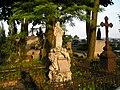 9 Kościelec - cmentarz parafialny nagrobek z 1896 r. (26.VI.2007).JPG