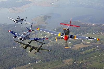 A-10, F-86, P-38 & P-51 Heritage formation.jpg