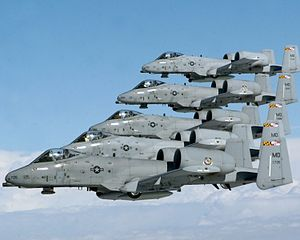 Warfield Air National Guard Base - A-10 Thunderbolt IIs from Warfield Air National Guard Base