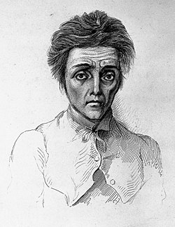 """A. Morison """"Physiognomy of mental diseases"""", cases Wellcome L0022722 (cropped).jpg"""