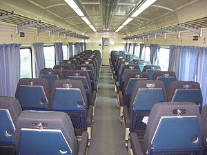 VicRail N type carriage - Image: ACN car interior