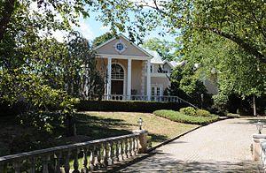 Alonzo Foringer House and Studio - Image: ALONZO FORINGER HOUSE AND STUDIO, SADDLE RIVER, BERGEN COUNTY, NJ