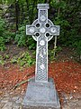 A Celtic cross beside the Rideau Canal (20758739101).jpg