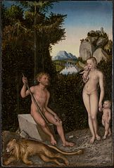 A Faun and His Family with a Slain Lion
