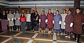 A Parliamentary delegation from Bhutan led by the Speaker of the National Assembly of Bhutan, Mr. Lyonpo Jigme Tshultim calls on the Speaker, Lok Sabha, Smt. Meira Kumar, in New Delhi on November 24, 2011.jpg