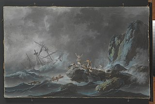A Shipwreck in a Storm
