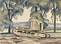 A Whippet Tank at Dollis Hill, London, N.w. Art.IWMART3890.jpg