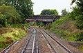 A footpath crosses the line near Bredon - geograph.org.uk - 1723385.jpg