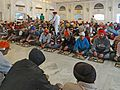 A langar, cuisine communautaire at Gurdwara Bangla Sahib New Delhi India Inde.jpg