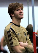 Aaron Wheeler at Preseason Training for the Philadelphia Union, Jan 2011.jpg