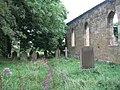 Abandoned church and gravestones - geograph.org.uk - 959583.jpg
