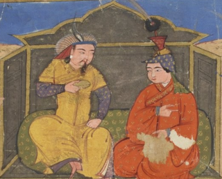 Abaqa Khan second Mongol ruler (Ilkhan) of the Ilkhanate (1234-1282) (r.1265-1282)