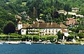Abbaye de Talloires, Lake Annecy, France - panoramio.jpg