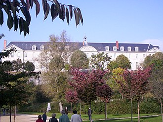 Mary Euphrasia Pelletier - The Abbey of Saint Nicholas in Angers is the Mother-House of the Congregation of Our Lady of Charity of the Good Shepherd.