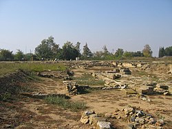 Ruins of the ancient city of Abdera.