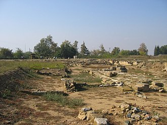 Abdera, Thrace - Remains of the ancient city of Abdera.