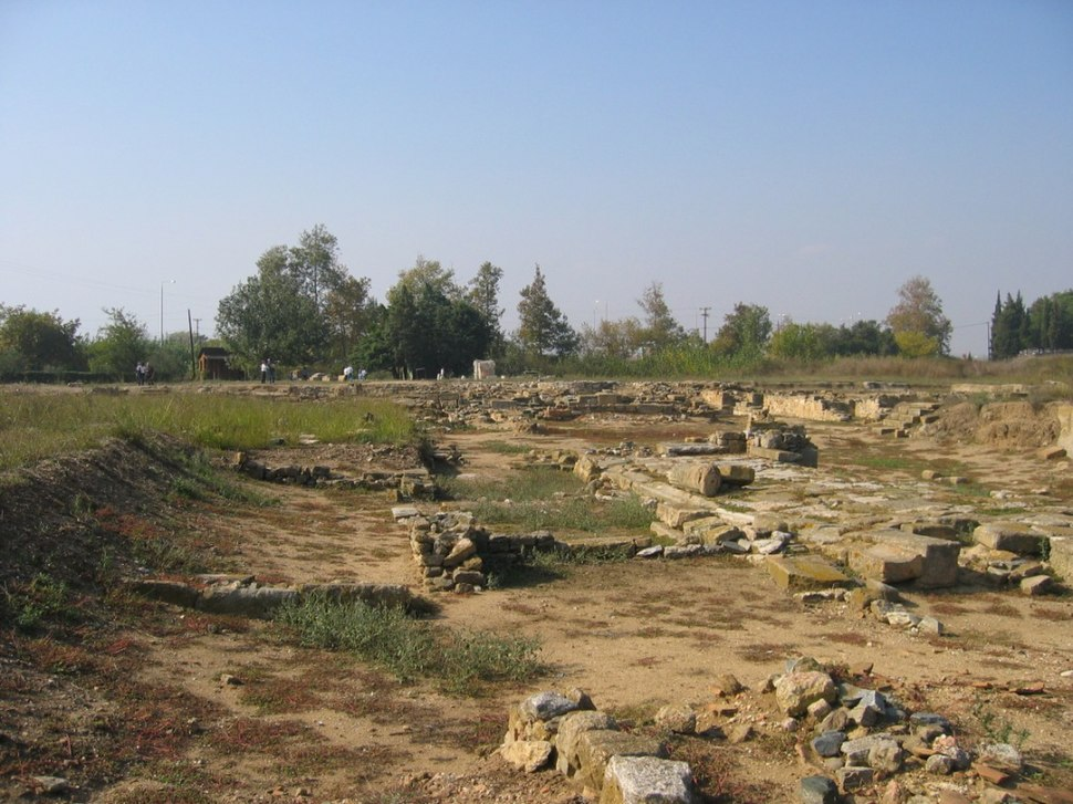 Remains of the ancient city of Abdera.