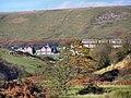 Abercerdin School and Mynydd Maes-teg - geograph.org.uk - 1276363.jpg