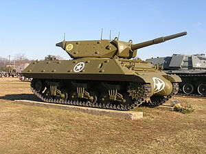 M10 tank destroyer - Image: Aberdean proving grounds 036