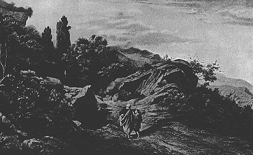 Abraham Climbs Mount Moriah