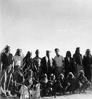 Abu Ghosh - Harel Brigade training with Arabs of Abu Ghosh. 1948