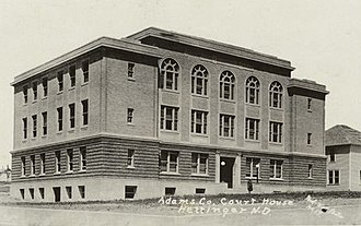 Adams County, North Dakota - Image: Adams County Courthouse (North Dakota)