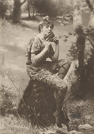 Empire Theatre (41st Street) - Maude Adams as Peter Pan (1905, 223 perf.)