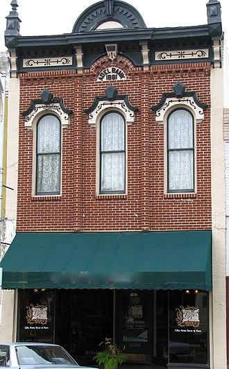 Adel, Iowa - Adel Bank, scene of 1895 robbery