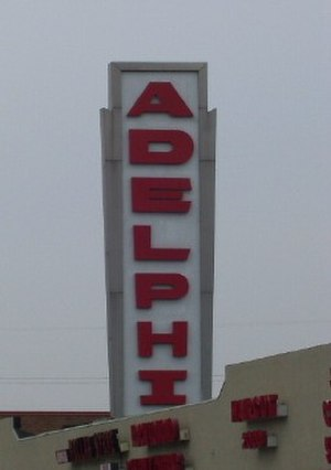 Adelphi, Maryland - Adelphi Shopping Center, former home to the original Ledo Restaurant
