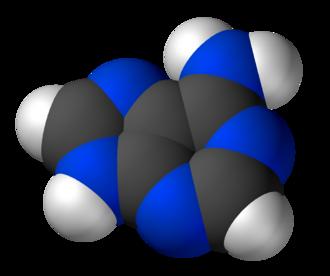 Adenine - Image: Adenine 3D vd W