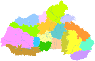 Xingtai - Image: Administrative Division Xingtai