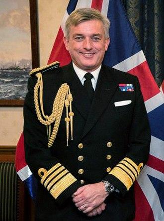 Philip Jones (Royal Navy officer) - Sir Philip Jones