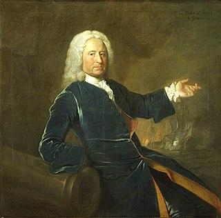 Royal Navy admiral, born 1681