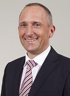 Adrian Hasler politician from Liechtenstein