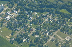 Aerial view of Robinson (2013)