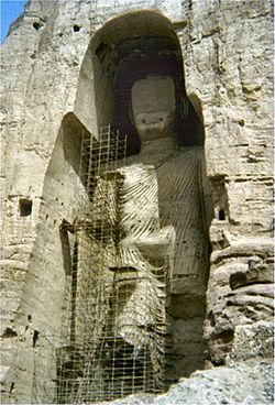 Afghanistan Statua di Budda 1