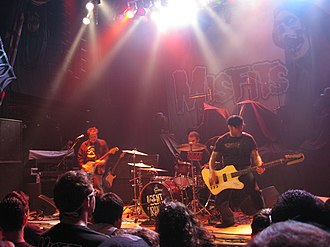 Agent Orange (band) - Agent Orange performing at the San Diego House of Blues in 2011.