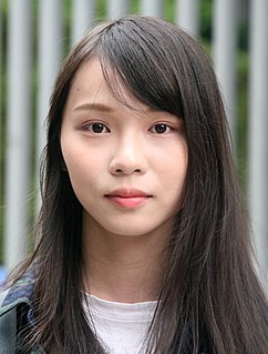 Agnes Chow Hong Kong politician and social activist