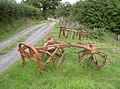 Agricultural machinery beside the track - geograph.org.uk - 1987832.jpg