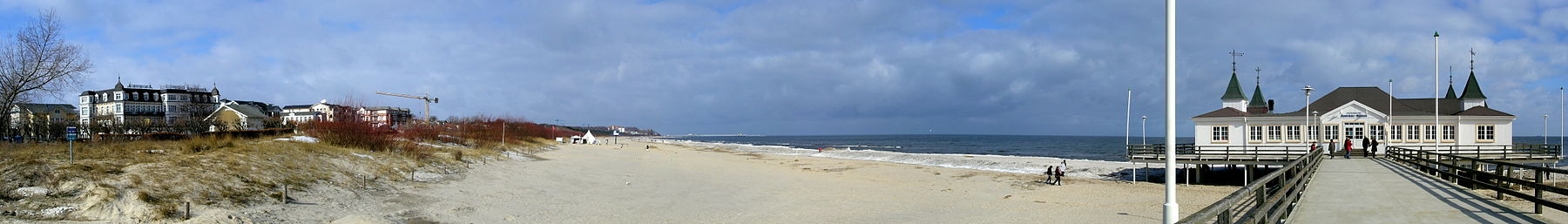 Kaiser Beach on Usedom (Ahlbeck)