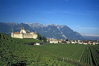 Aigle Municipality in Switzerland in Vaud