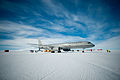 Air Force Boeing 757 in Antarctica.jpg